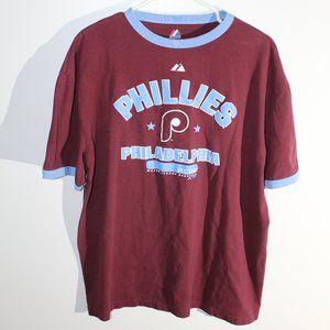 Throwback Philadelphia Phillies Mens XL Teeshirt